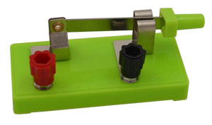 Knife Switch with External Posts, SPST
