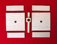 Wood Parts for wooden generator
