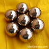 Brass Balls, Solid, 1 inch (25mm)