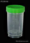 Plastic Cup with Cap (3-oz.)