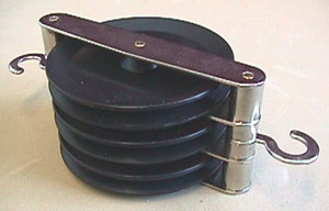 Triple Parallel Pulley, 50 mm
