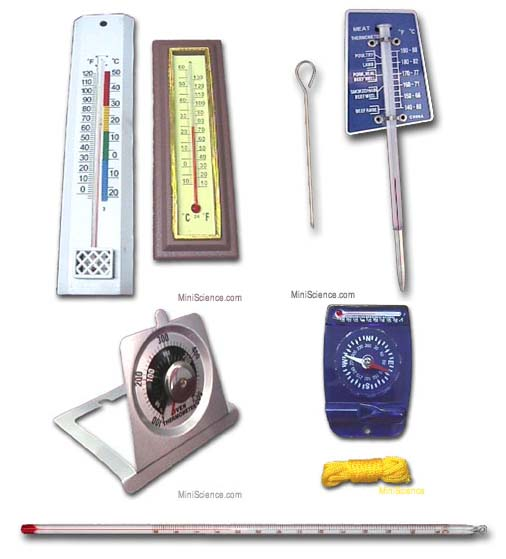Thermometer Set of 6
